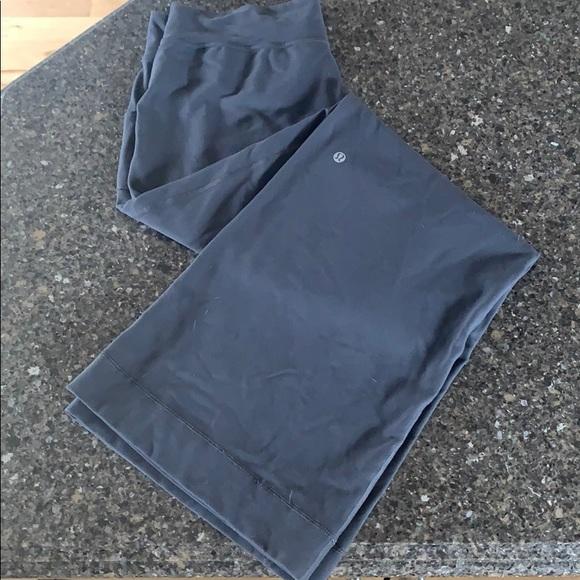 Wide leg lululemon pants